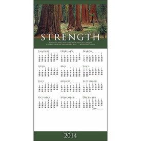 Company Z-Fold Greeting Card Calendar