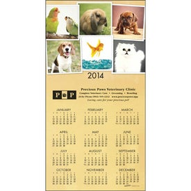 Advertising Z-Fold Greeting Card Calendar