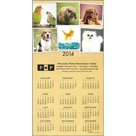 Advertising Z-Fold Greeting Card Calendar