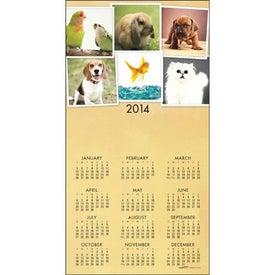 Z-Fold Greeting Card Calendar for your School