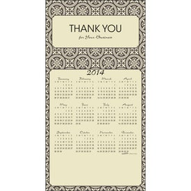 Promotional Z-Fold Greeting Card Calendar