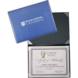 Deluxe Certificate or Diploma Holders
