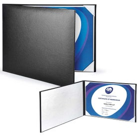 Padded Leatherette Certificate Holders