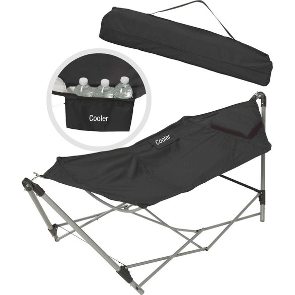 Black Hammock with Cooler