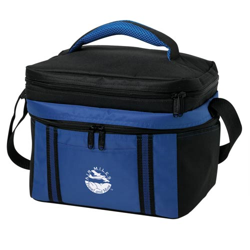 Custom Can Coolers ~ Can duet cooler bag promotional coolers ea