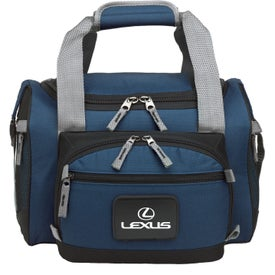 12-Can Convertible Duffel Cooler with Your Slogan