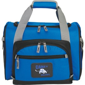 12-Can Convertible Duffel Cooler for Advertising