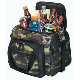 12-Can Convertible Duffel Cooler (Camouflage)