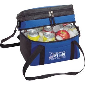 Logo 12 Pack Insulated Picnic Cooler