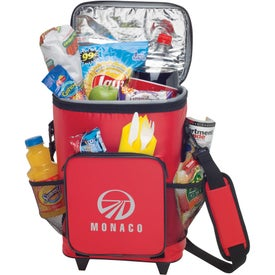 18-Can Rolling Insulated Cooler for Your Organization