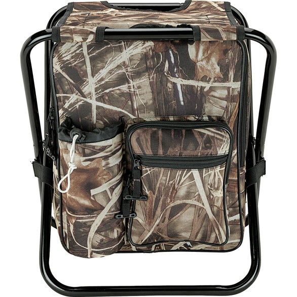 Camouflage 24 Can Camo Cooler Chair