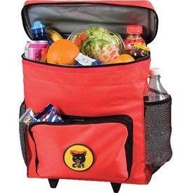 Monogrammed 30 Can Rolling Cooler Bag