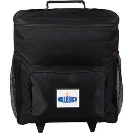 Logo 30 Can Rolling Cooler Bag