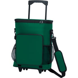 Advertising 30-Can Rolling Insulated Cooler Bag