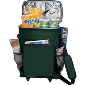 30-Can Rolling Insulated Cooler Bag for Customization