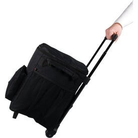 48 Can Rolling Cooler Bag with Your Slogan