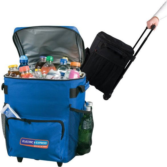 48 Can Rolling Cooler Bag For Your School