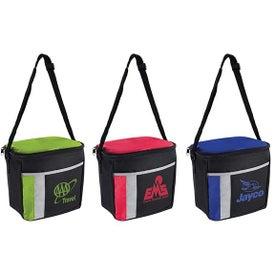 6 Pack Color Block Cooler