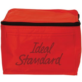 6 Pack Cooler Bag Printed with Your Logo