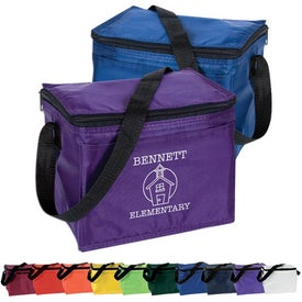 6 Pack Cooler for Advertising