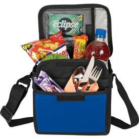 Monogrammed 6-Can Cooler Bag