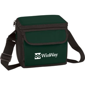 6-Can Cooler Bag with Your Slogan