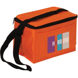 6 Pack Cooler Bag Branded with Your Logo