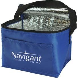 6 Pack Nylon Cooler Bag for Promotion