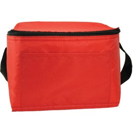 6 Pack Nylon Cooler Bag for Marketing