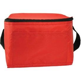 6 Pack Nylon Cooler Bag for Marketing