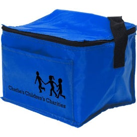 Custom 6 Pack Nylon Cooler Bag