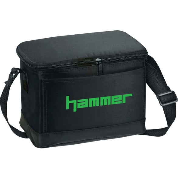 Black 6-Pack Insulated Bag