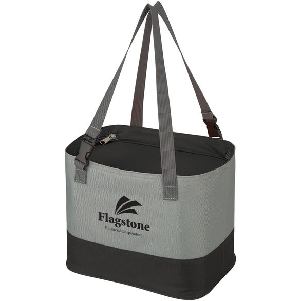Gray / Black Alfresco Cooler Lunch Bag