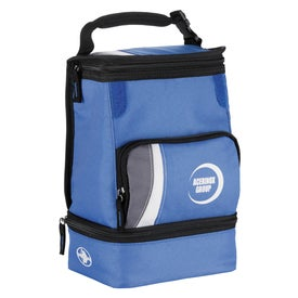 Monogrammed Arctic Zone Dual Compartment Lunch Cooler