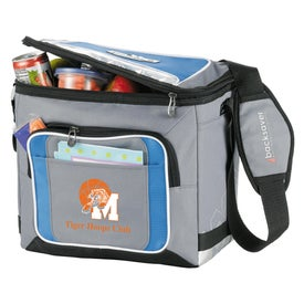 Personalized Arctic Zone Ice Cold 18 Can Collapsible Cooler