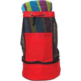 Monogrammed Backpack Cooler Bag