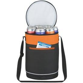 Monogrammed Barrel Buddy Round Kooler Bag
