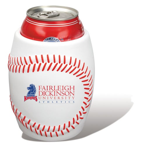White Baseball Can Holder