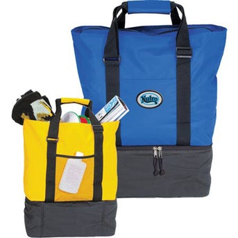 Promotional Beach Tote Cooler Bag with Custom Logo for $16.73 Ea.