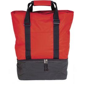 Monogrammed Beach Tote Cooler Bag