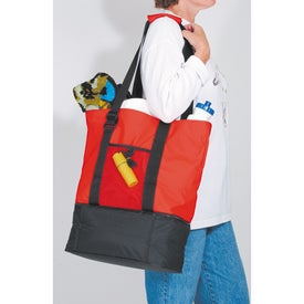 Beach Tote Cooler Bag Branded with Your Logo