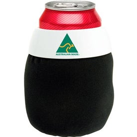 Bean Bag Can Holder with Your Slogan