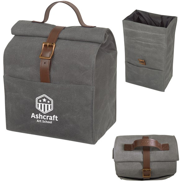 Gray Benchmark Lunch Cooler Bag
