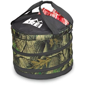 Big Buck Collapsible Cooler for Advertising
