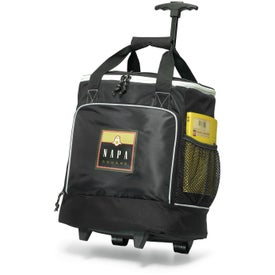 Imprinted Bravo Wheeled Cooler