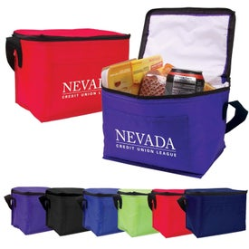 Budget 6-Pack Cooler for Customization