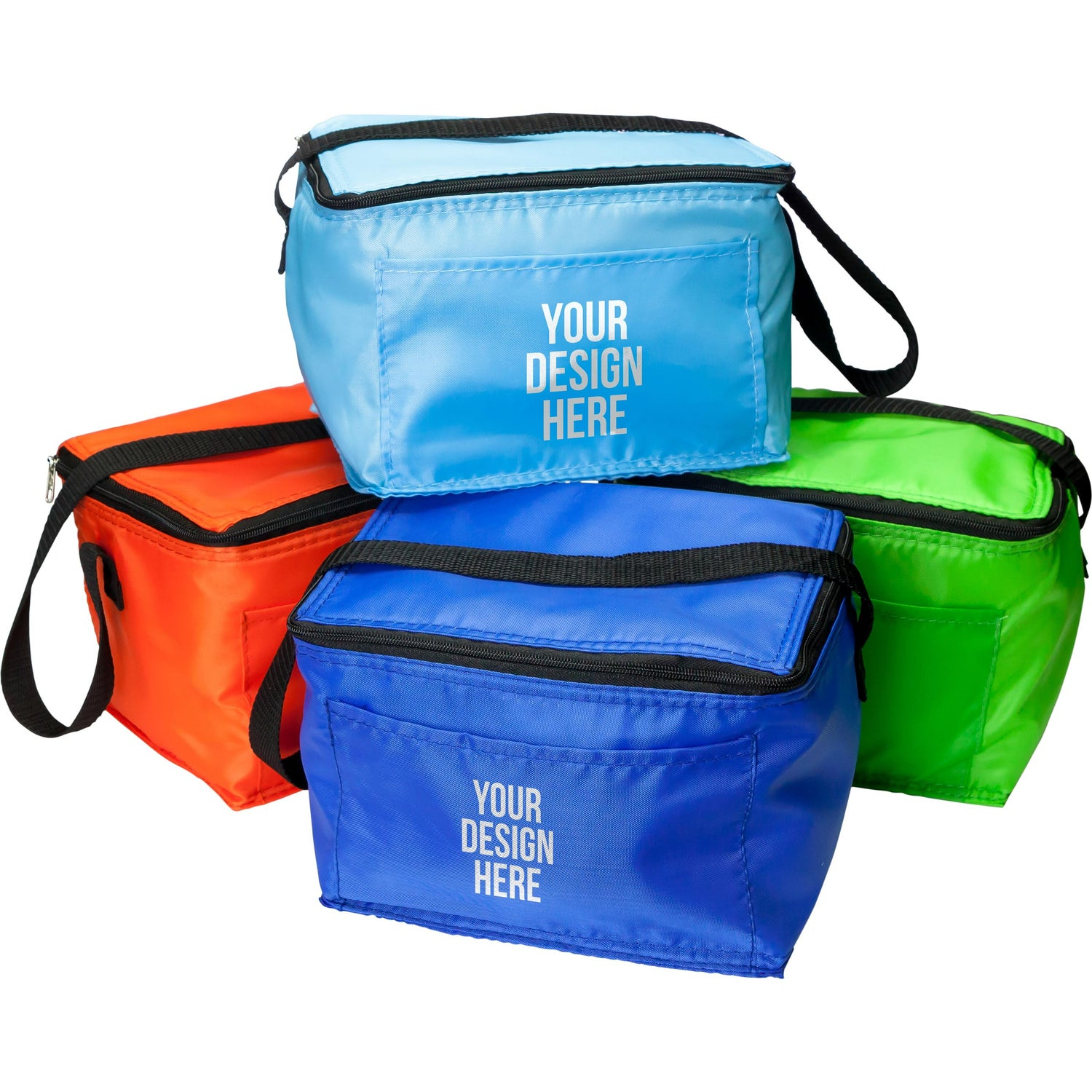Promotional 6 Pack Cooler Budget Kooler Bags With Custom