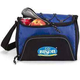 Bungee Six Pack Cooler Imprinted with Your Logo
