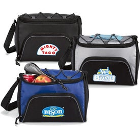 Bungee Six Pack Cooler for Advertising
