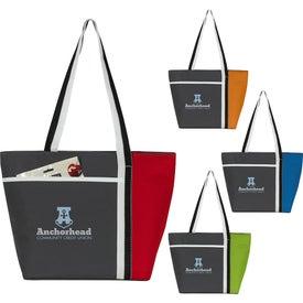 Calling All Stripes Cooler Tote Bag